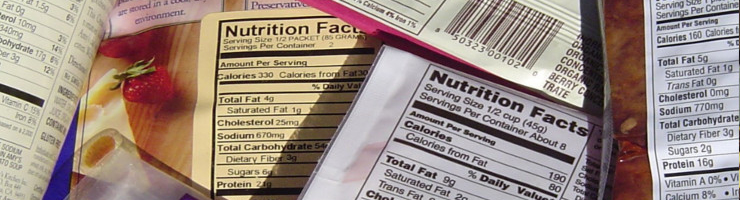 Nutritional Labels